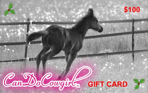 CanDoCowgirl Gift Card - $100