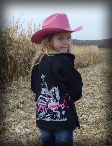 CanDoCowgirl Glitter Jacket - Youth